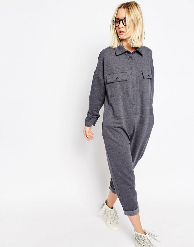 ASOS-oversized artsy type jumper, this time in a transitioned to colder weather fleece.