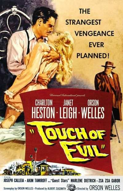 SED DE MAL. Orson Welles 1958 Henry Mancini, Orson Welles, Sed de Mal, Touch of Evil, La Pantera Rosa