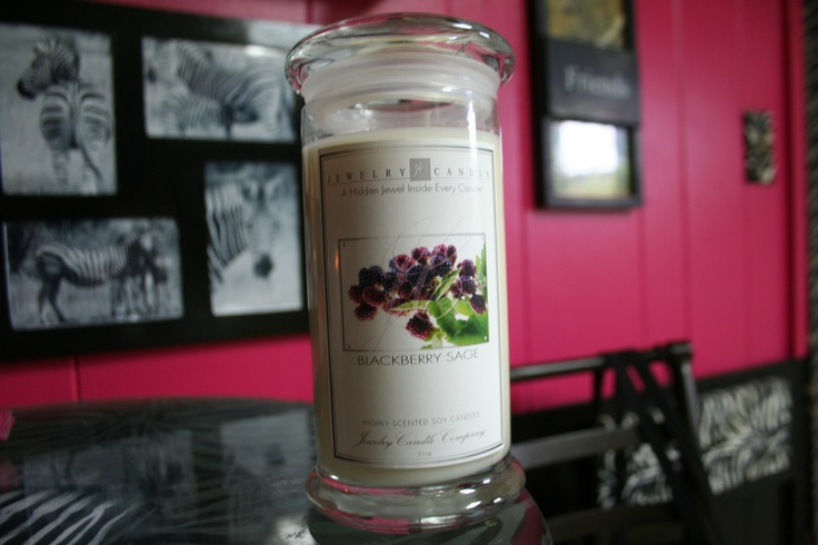 Blackberry Sage by JewelryCandles.com ! It smells amazing! Click this pic to read more about it...