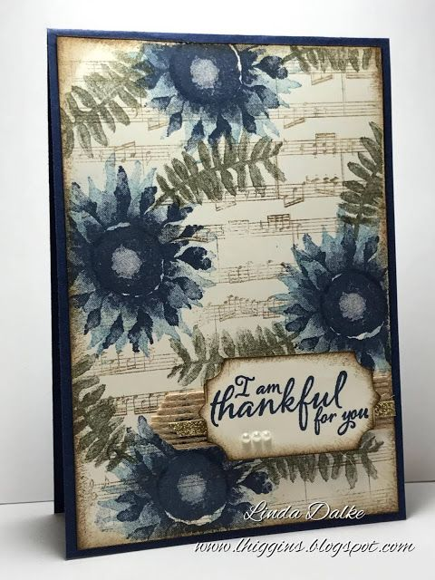 Linda Dalke: Quick Tip Video: Creating Subtle Backgrounds (and introducing the Painted Harvest Stamp Set!)