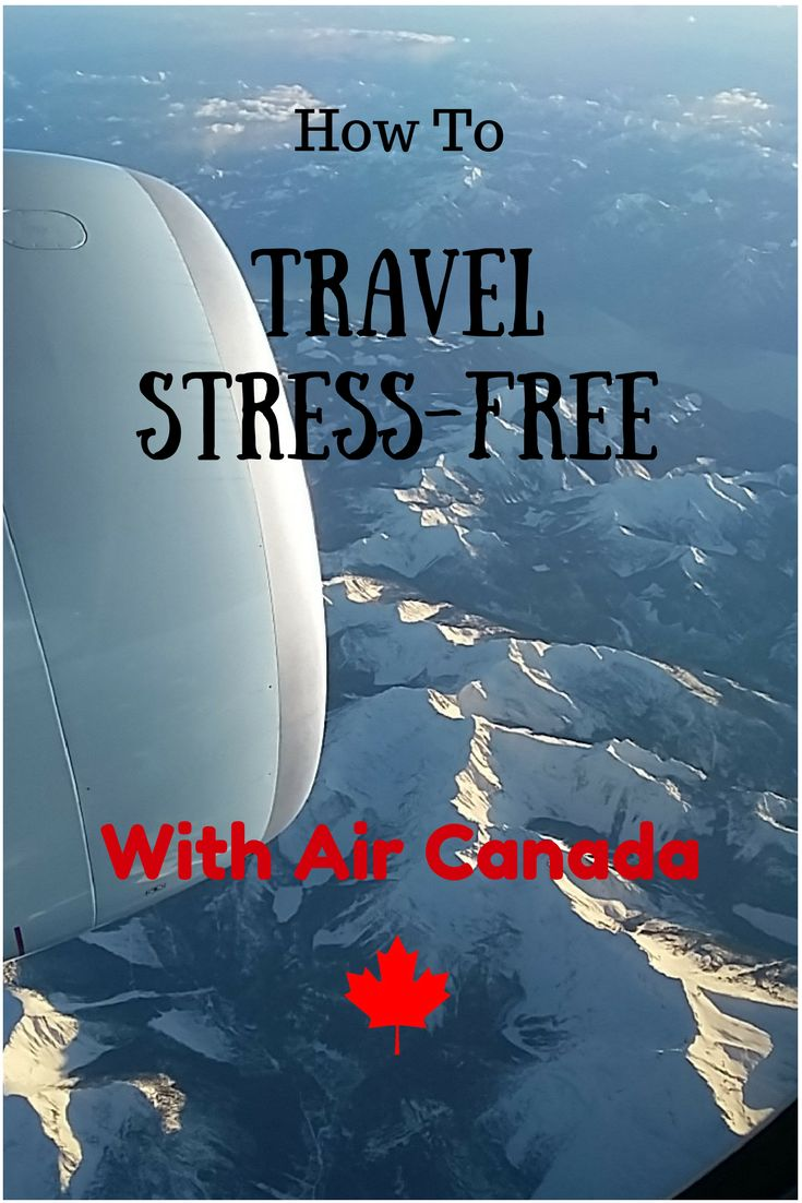 You love to go places but dread the long distance flights taking you there. Learn how I travel stress-free, handle transfers and why I choose Air Canada.