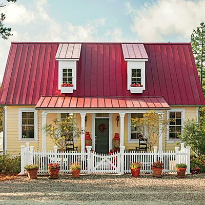 Garden Home Cottage   Plan #1859 - 17 House Plans with Porches - Southern Living