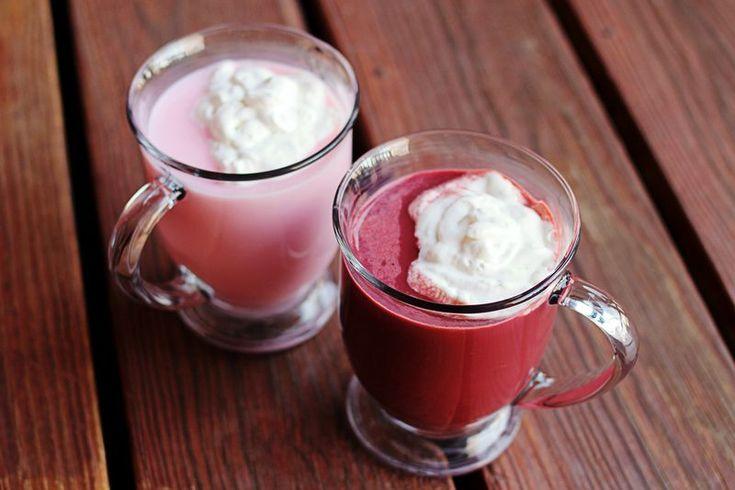 Velluto rosso e cioccolata calda rosa