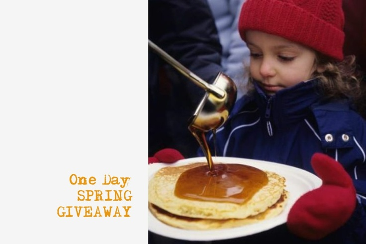 Today and tomorrow on Ruralist: Win Family Passes to this weekend's Elmira Maple Syrup Festival!