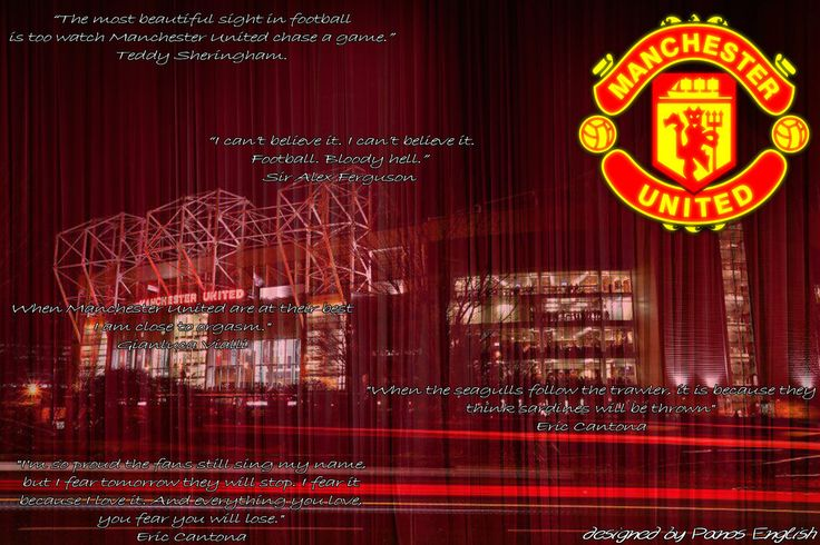 Manchester United Wallpaper Quotes by PanosEnglish.deviantart.com on @DeviantArt