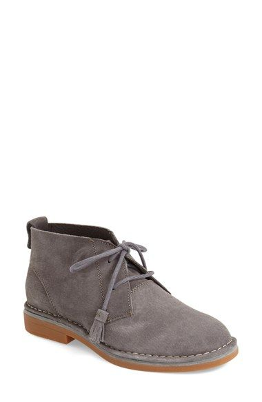 Free shipping and returns on Hush Puppies® 'Cyra Catelyn' Chukka Bootie (Women) at Nordstrom.com. Modern and comfortable, this must-have chukka bootie for fall features a Worry-Free Suede® protective coating from Hush Puppies. Tasseled laces and contrast stitching keep it on-trend, while a molded rubber sole provides excellent durability and traction.