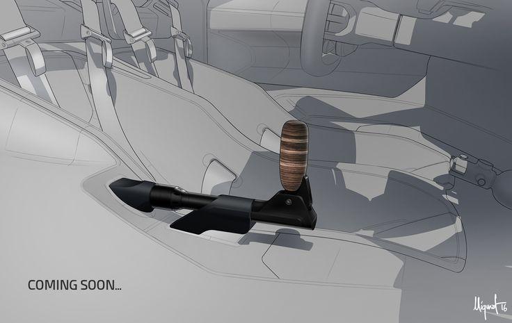 INTERIOR – Porsche 908-04 concept