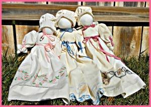 Pillowcase Dolls - Just like I use to make