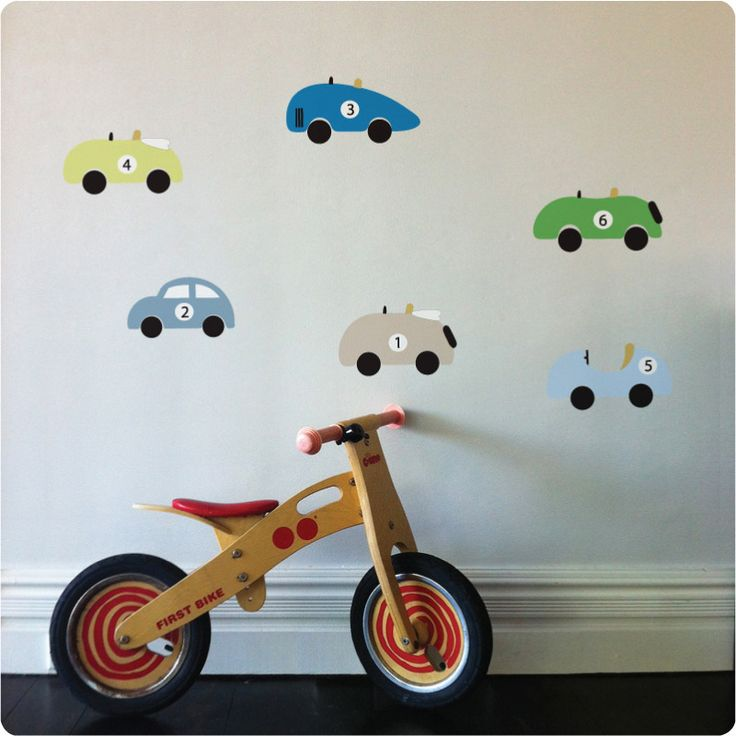 Cars Removable Wall Stickers Part 73