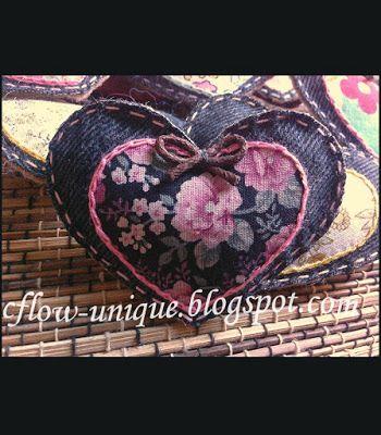 Simple Love Denim Brooch  it's so beautiful, right?!