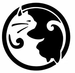 10 best yin yang noir et blanc me soeur images on for Deco yin yang
