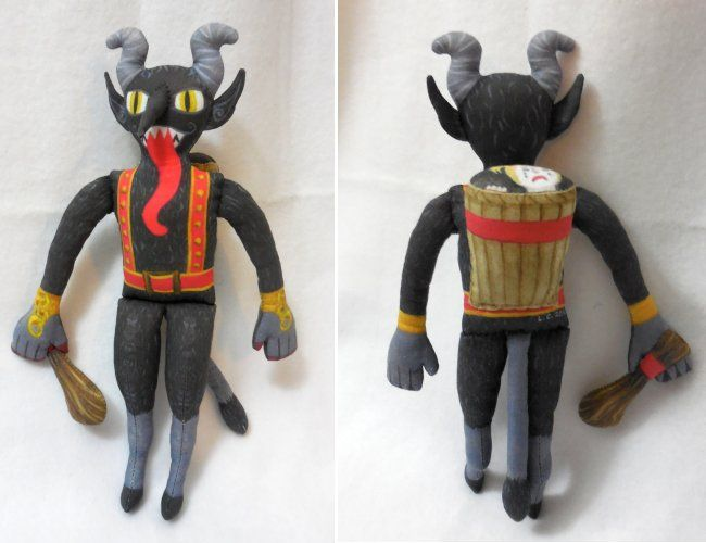 Tired of that goody-goody Elf on the Shelf tattling on your kids? Why not scare them into behaving? Krampus, everyone's favorite Christmas monster, stars in his own picture book and plush toy parody of the Elf on the Shelf tradition. Currently crowdfunding on Kickstarter! Get yours here: https://www.kickstarter.com/projects/62144394/krampus-in-the-corner-picture-book-and-plush-toy