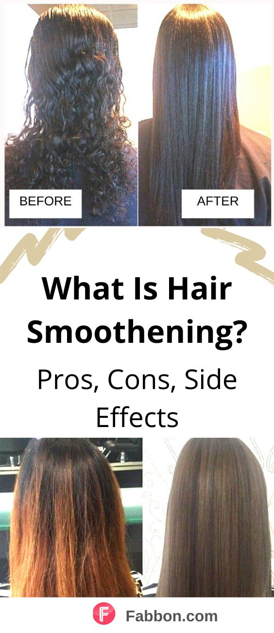 Hair Smoothening Guide Pros, Cons And Side Effects in