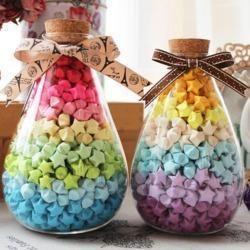 C$ 0.76 Pas cher Livraison Gratuite (90 bandes/paquet) 30 Bonbons Couleurs Artisanat Origami Lucky Star Bandes BRICOLAGE Papier Décoration Souhaitant bouteille Cadeau, Acheter  Artisanat Papier de qualité directement des fournisseurs de Chine:----------------------------------------------------------------------------------------------------------modèle No.:H