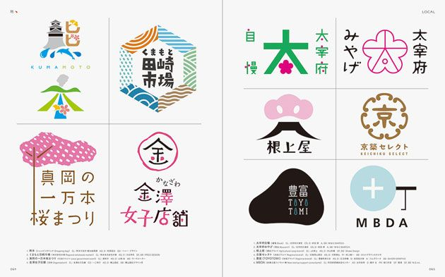 日本語を使って表現されたロゴデザイン集「ニホンゴロゴ」の第二弾。日本語の面白さを感じることのできる一冊となっています。