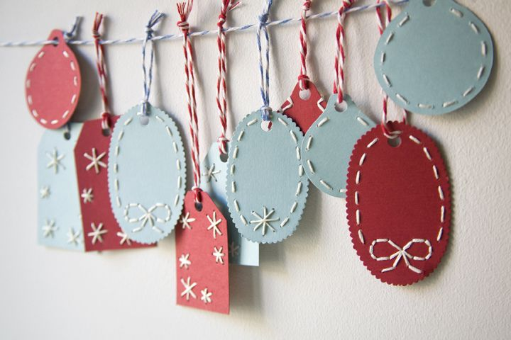 Miniature Rhino: diy gift tags