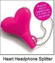 Avon Heart Headphone Splitter - Limited Edition ❇️Available in our shop. Follow us to get shop updates❇️ #avonplusshop #heartheadphonesplitter