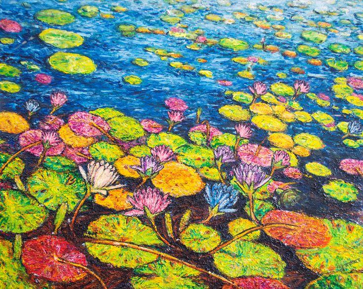 "Bright Blue. 20x24"" oil on canvas by Josh De Pasquale. http://www.redbubble.com/people/wwwjosh/works/13438805-bright-blue-unframed"