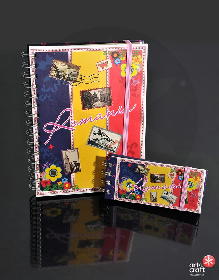 Agenda si carnetel personalizate - Fresh Style, Art&Craft Special Design