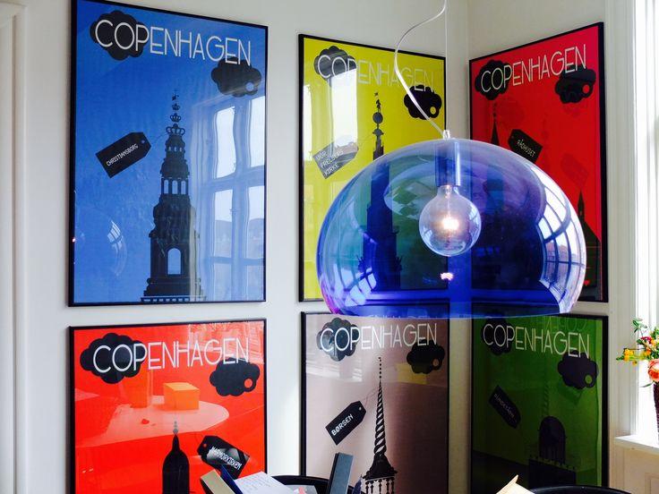 Copenhagen Poster (Old Version) Somewhere in Paris...
