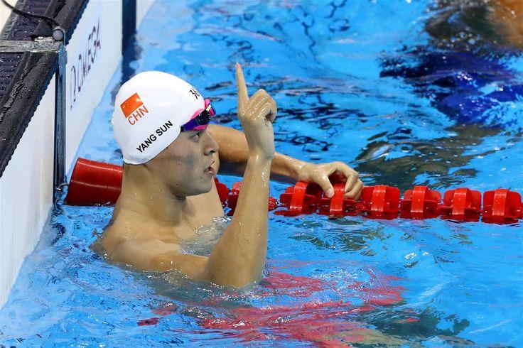 Sun, Yang - Natación - China - 200m estilo libre masculino - OAS - Estadio…