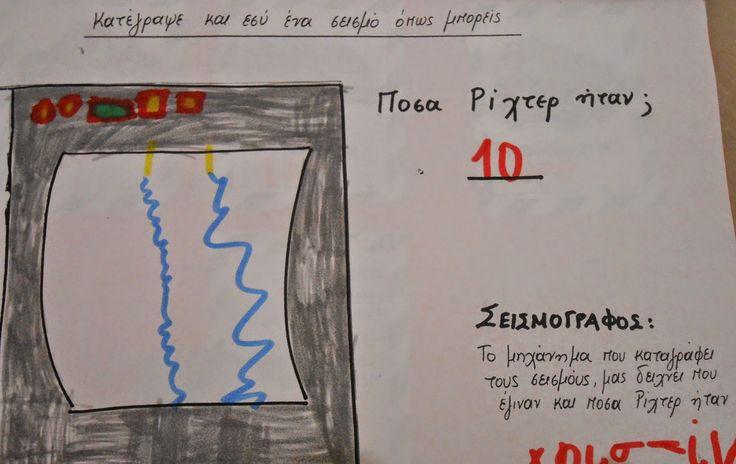 Το μαγικό κουτί της...Κατερίνας: Σεισμός...σεισμός...μην σε πιάνει πανικός!!