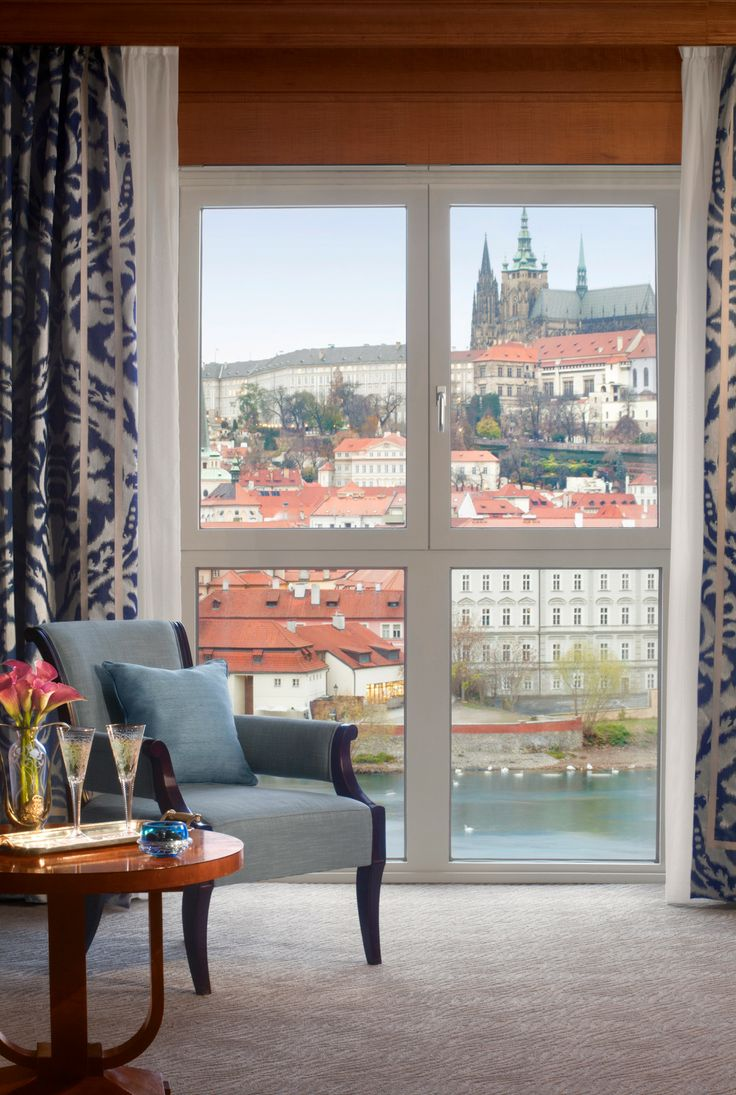 "A ""suite"" place to spend a lazy afternoon, at @Mandy Dewey Seasons Hotel Prague (Praha). #hotelinteriordesigns"