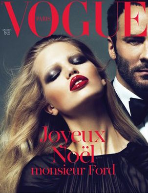 Vogue Paris w/ Tom Ford. A-FREAKING-MAZING.