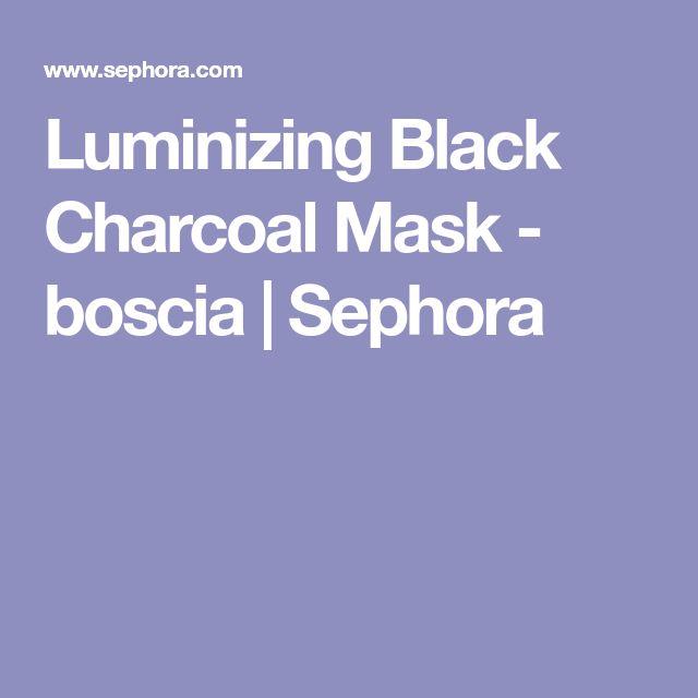 Luminizing Black Charcoal Mask - boscia | Sephora