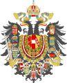 Escudo del Imperio austrohúngaro (versión de 1867)