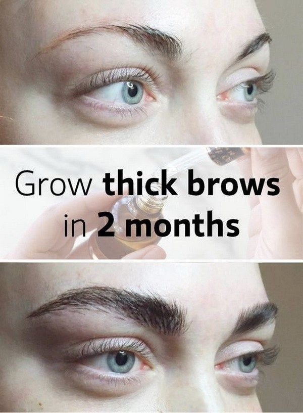 Grow Your Brows and Lashes Quickly.