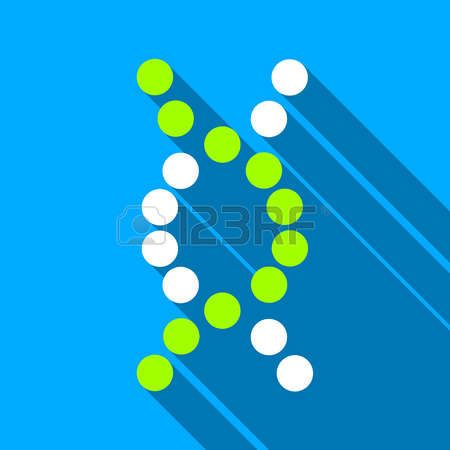 dna test icon long shadow - Google Search