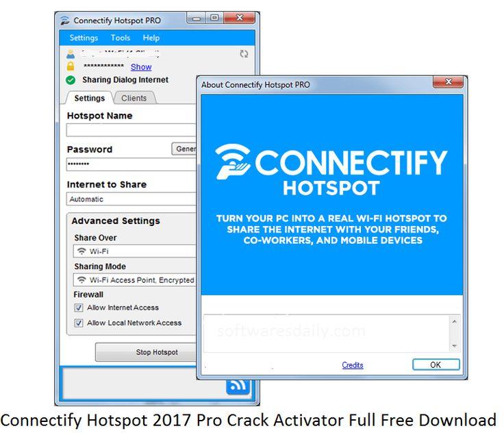 connectify hotspot 2017 license key