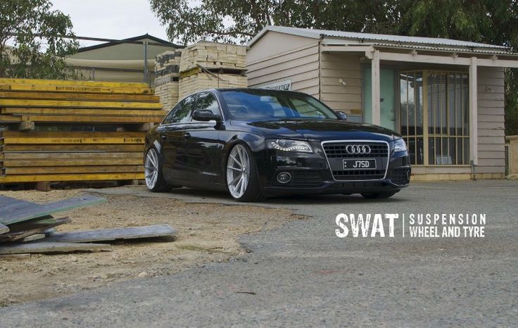 Audi A4 (B8) - 20x10 TSW Wheels combined with a KW Coilover suspension setup