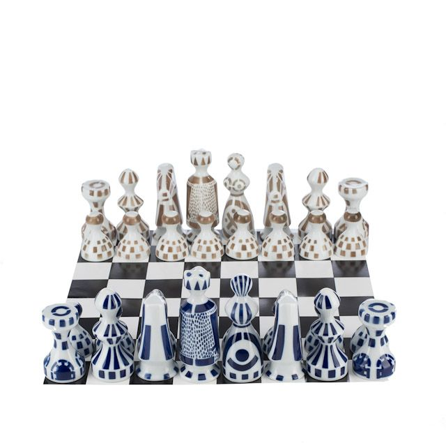 Chess set Juego de Ajedrez Sargadelos Spain