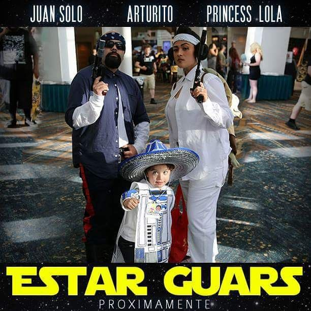 The cultural mash-up that is Star Wars fandom and Latino pop culture = pure gold.   #ESTARGUARS