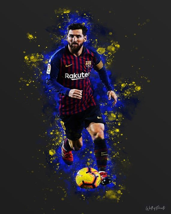 Printable Messi Print Print Design Soccer Football Wall Art Lionel Messi Lionel Messi Poster Bedroom Soccer Poster Bedroom Print Lionel Messi Messi Messi Poster