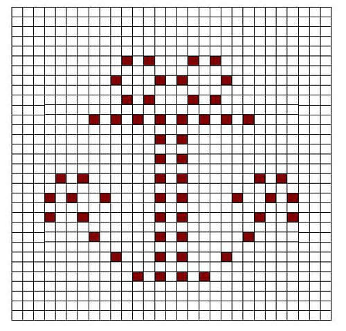 Ravelry: Anchor Bobble Chart pattern by Kari Philpott
