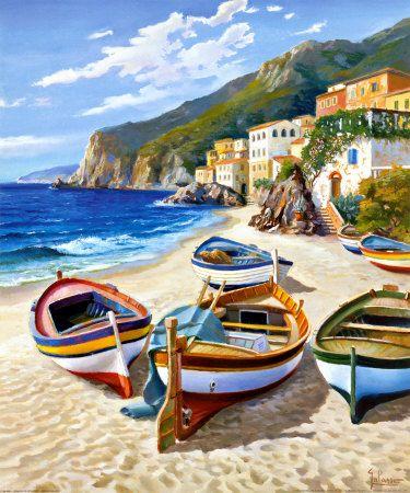 Spiaggia dei Pescatori by A. Galasso