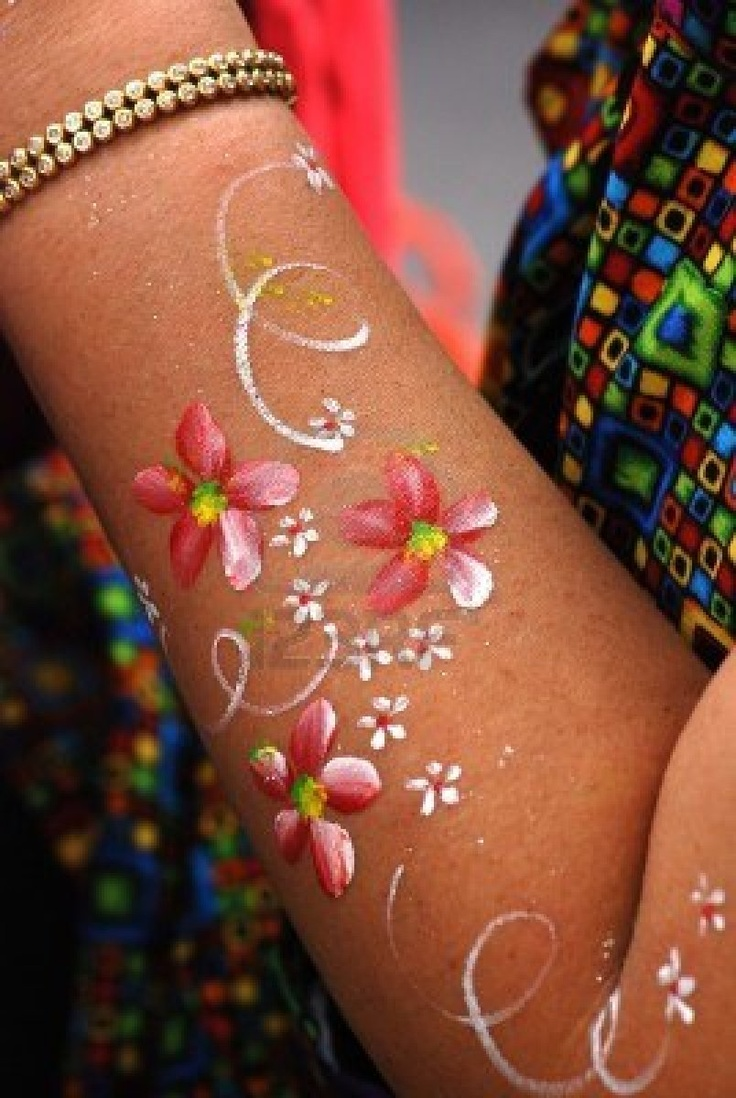 body art painting -
