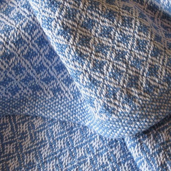 Custom Handwoven Baby Blanket   Cotton