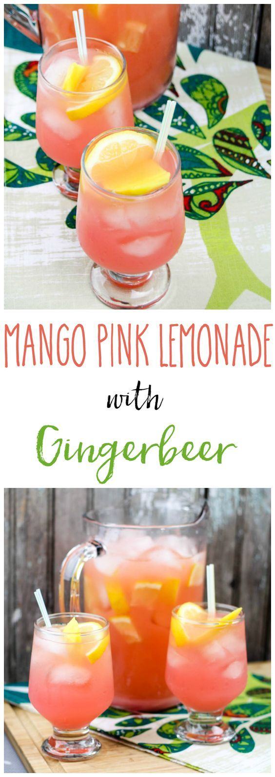 This is a pink lemonade you want at your next party! Perfect for Spring and Summer backyard events or a Mom's Night Out gathering.