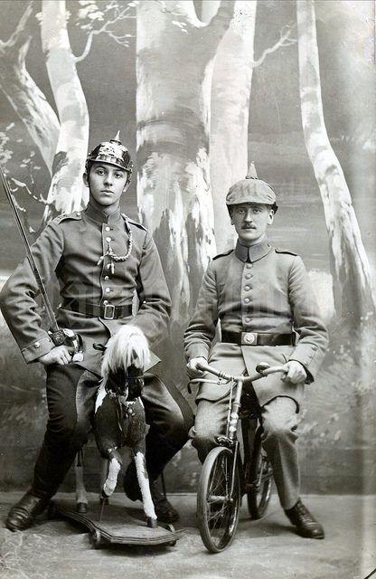 WWI; 2. Badisches Dragoner-Rgt Nr.21 & Inf-Rgt Markgraf Ludwig Wilhelm (3. Badisches) Nr.111 - Drakegoodman