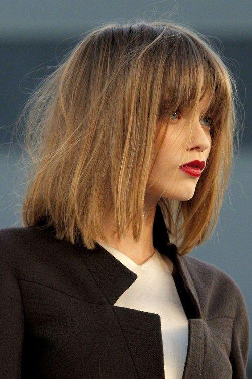 blunt, colour          Chanel Haute Couture Fall 2010