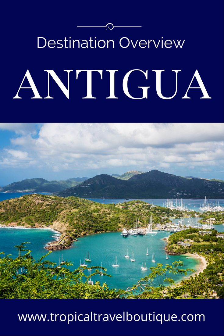 This article gives an overview of Antigua, a beautiful tropical island in the Caribbean. It's the perfect destination for a honeymoon or vacation.