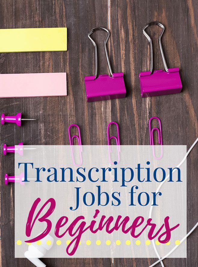 Free Legit Online Typing/Transcription Jobs For Beginners