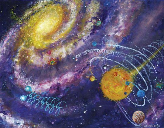 Galaxia Vortex, by Valentina Pérez