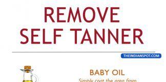 HOW TO REMOVE SELF TANNER, NATURALLY