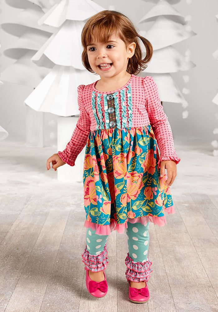 Little Missy Dress with Diaper Cover - Matilda Jane Clothing