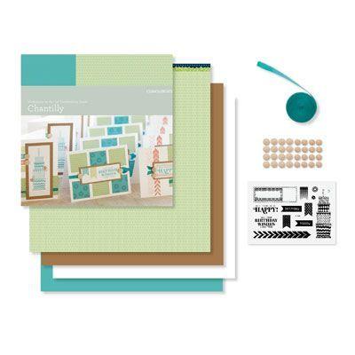 Chantilly Cardmaking Kit
